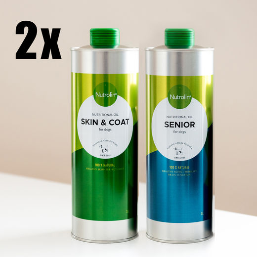 (TUPLA) SKIN & COAT + SENIOR 1000ml