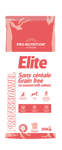 Elite Cereal Free with salmon 20kg